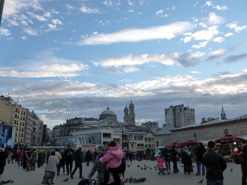 Near Taksim Square in Istanbul